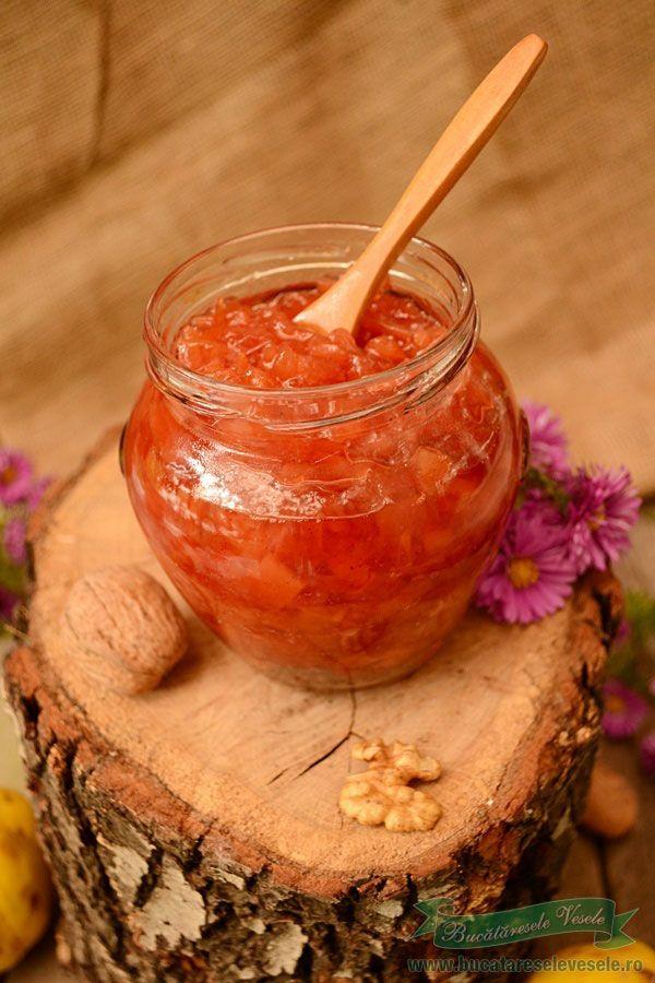Reteta dulceata de gutui taiate cubulete .Cum pregatim dulceata de gutui taiate cubulete.Reteta buna de dulceata de gutui.Dulceata de gutui