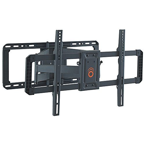 "ECHOGEAR Full Motion Articulating TV Wall Mount Bracket for most 42-80 inch LED, LCD, OLED and Plasma Flat Screen TVs w/ VESA patterns up to 600 x 400 - 22"" Extension - EGLF2-BK …  Do you even lift, bro? We never skip leg day. Our heavy-gauge steel is strong enough to support TV screens up to 125 lbs.  Pull your TV out 22"" away from the wall for ultimate viewing. Place back 2.4"" from the wall for the real slim shady look. Become the ultimate you. We believe.  With up to 130º of swivel,..."