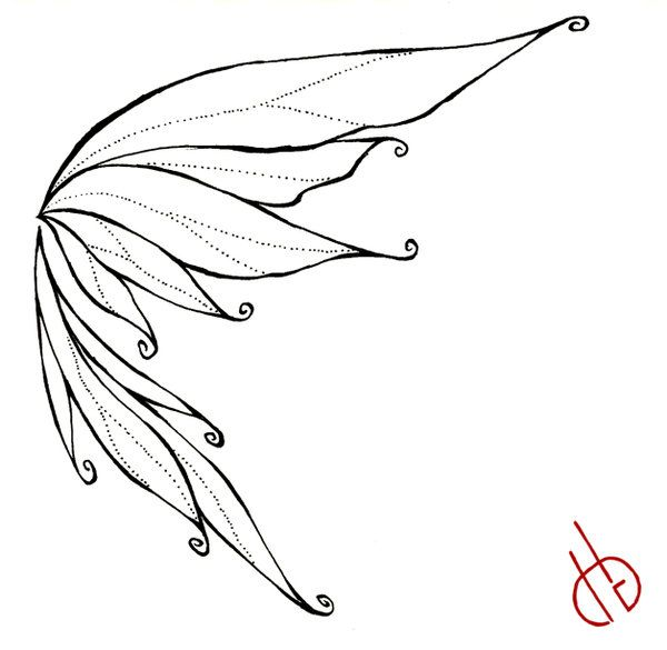 Fairy Wings Drawings | Fairy Wing by ~ bakero-ichiban