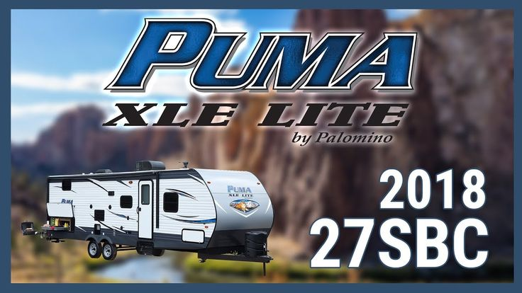 2018 Palomino Puma XLE 27SBC Toy Hauler RV For Sale TerryTown RV Superstore Check out 2018 Puma XLE 27SBC now at http://ift.tt/2xDizlx or call TerryTown RV today at 616-426-6407!  Gas up your ATVs and pack your bags for an amazing getaway with this 2018 Puma XLE 27SBC toy hauler from TerryTown RV!  This mid-sized toy hauler has a molded fender skirt rear stabilizer jacks and super lube axles. Across the front there is a protective diamond plate and there are LP tanks mounted to the front…
