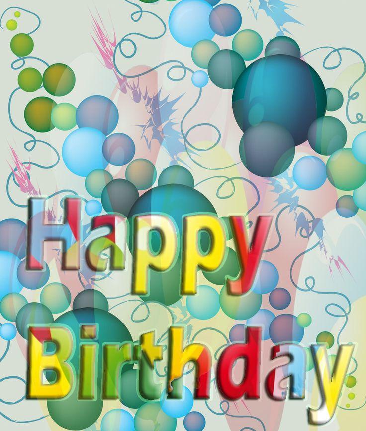 Více než 25 nejlepších nápadů na Pinterestu na téma Hd happy - happy birthday card template free download