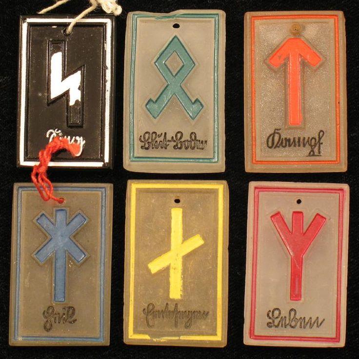 Runes_Complete Set of Germanische Runen Variant
