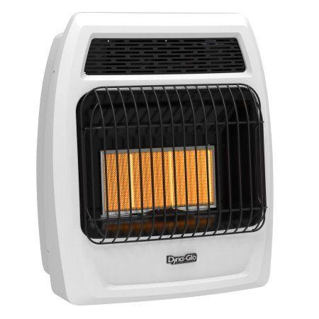 dynaglo irss18lpt2p btu liquid propane infrared vent free wall heater