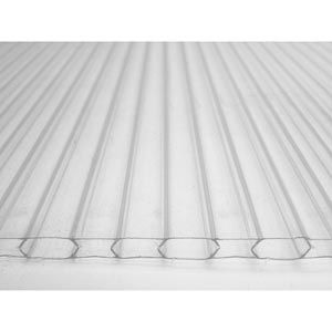 Greenhouse Film  Covering - Greenhouse Polycarbonate - 4 mm & 6 mm Twin-Wall Polycarbonate Sheets - Clear