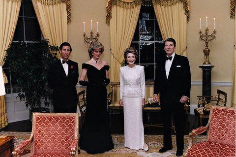 Prince Charles and Princess Diana announce royal separation.