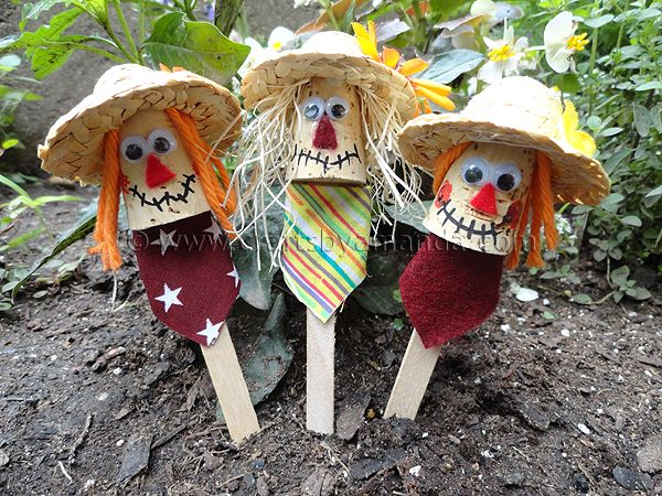 Scarecrows are synonymous with autumn. Making fall crafts with your kids needs to include some of these cuties! Using some craft sticks, corks and mini straw hats, you can make these cute little craft stick scarecrows. Use them as plant pokes, puppets or stick them in some Styrofoam to hold them up. The first thingRead More »