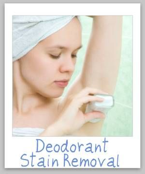 Upholstery carpets and stains on pinterest for How to get deodorant stains out of shirts