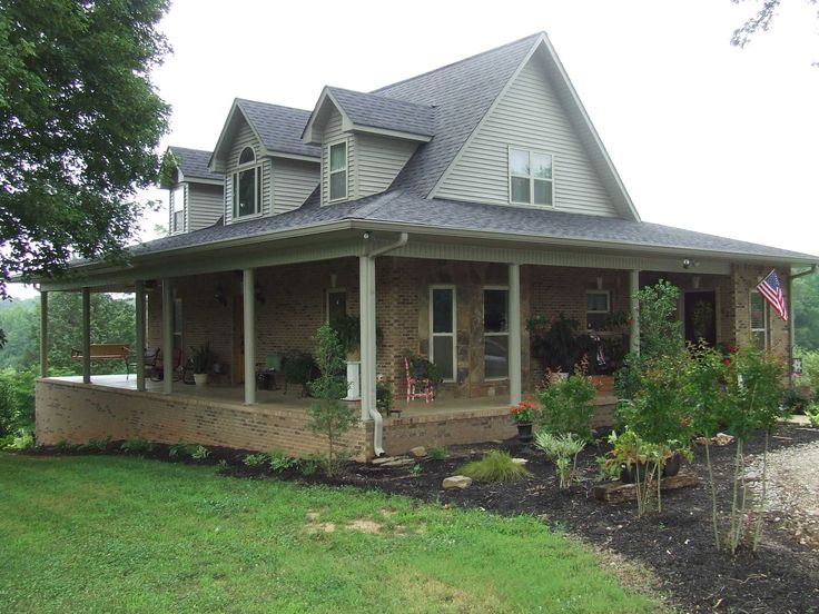 Awesome large farmhouse with wrap around porch with