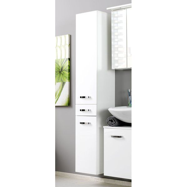 Dessie 30cm X 180cm Wall Mounted Cabinet Wall Mounted Cabinet Bathroom Tall Cabinet Bathroom Interior