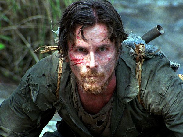 Christian Bale as a US Fighter Pilot Dieter Dengler...