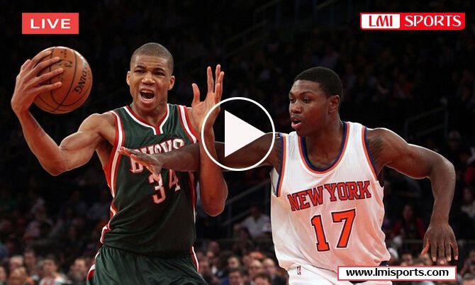 Milwaukee Bucks vs New York Knicks Reddit NBA Live Stream 2018 Free