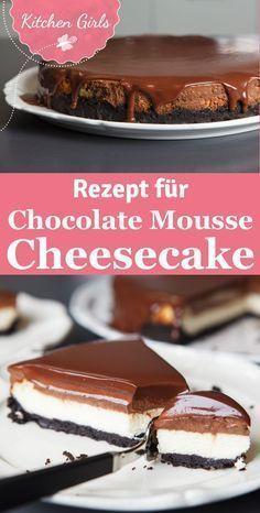 Chocolate Mousse Cheesecake – #Cheesecake #Chocolate #Mousse – #Cheesecake #Choc…
