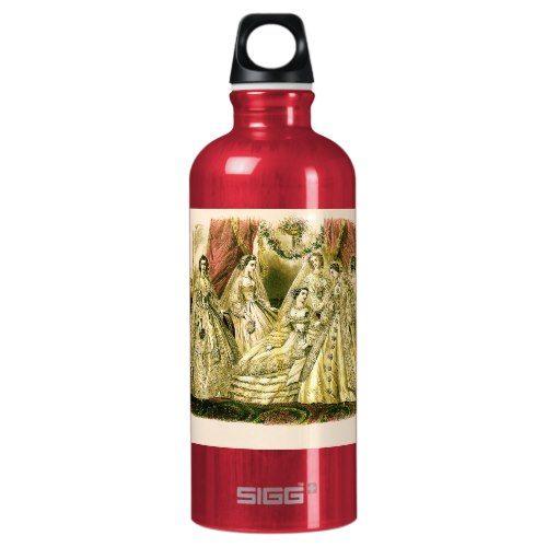 Victorian Wedding Aluminum Water Bottle