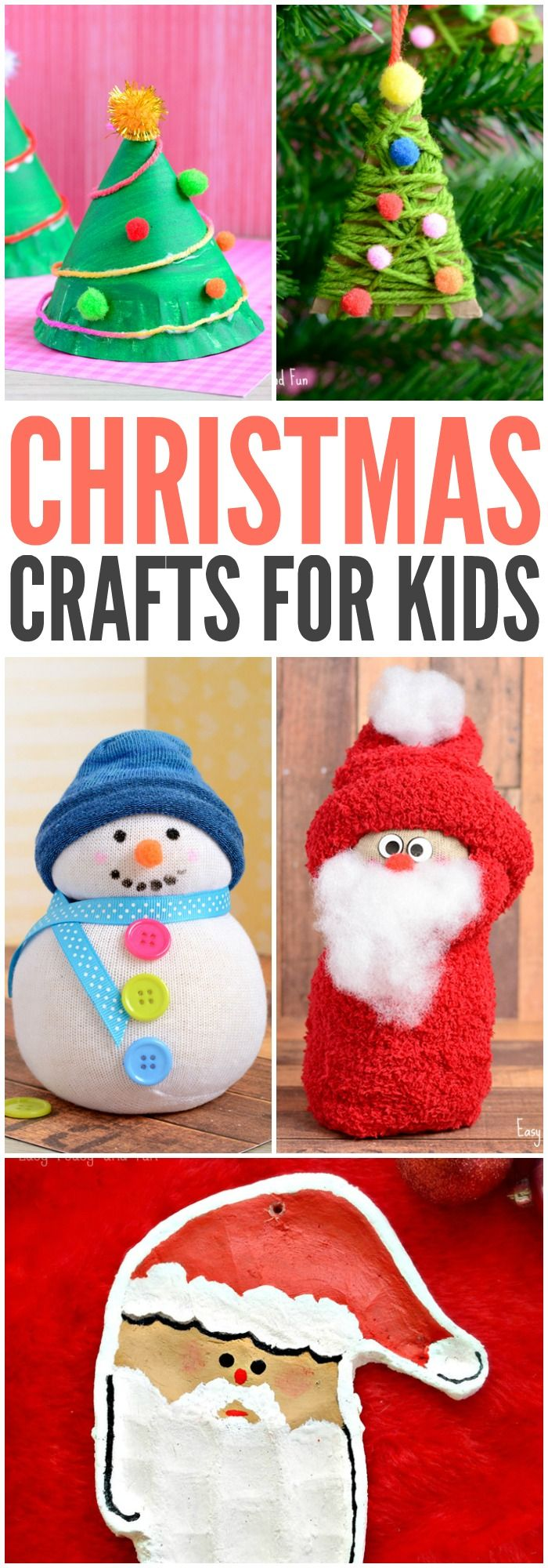 Christmas Crafts for Kids to Make