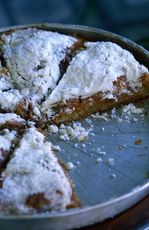 The delicious and world-renowned bougatsa with cream #Thessaloniki #Salonica #Greece