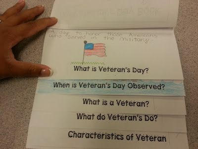 Veterans Day Flip Books
