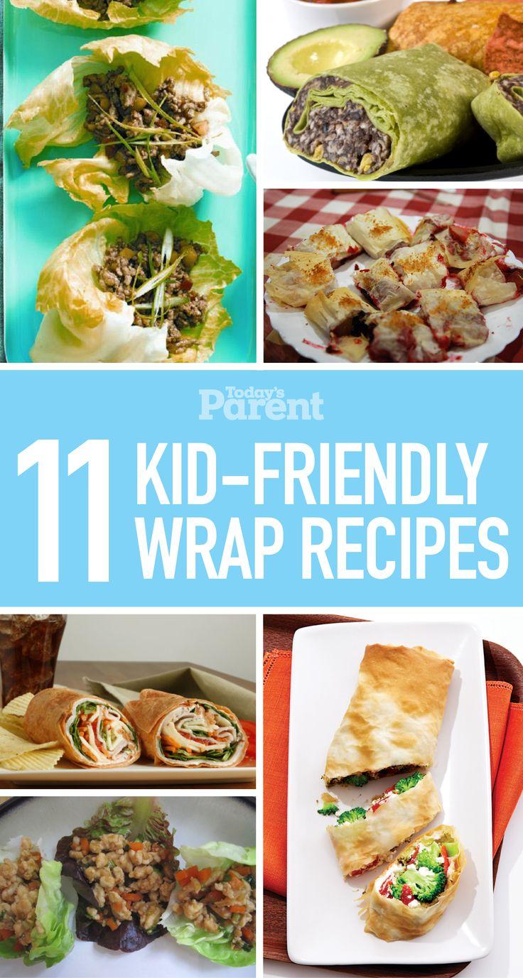 11 kid-friendly wrap recipes