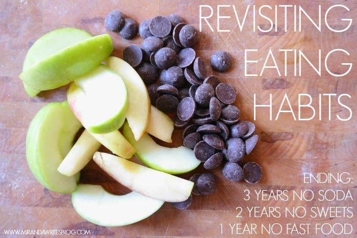 Revisiting Eating Habits// Miranda Writes Blog