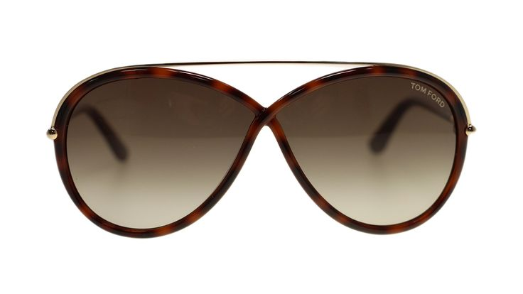 Tom Ford Aviator Women's Sunglasses FT0454 52K Dark Havana/Roviex Gradient 64mm. BRAND NEW TOM FORD SUNGLASSES.