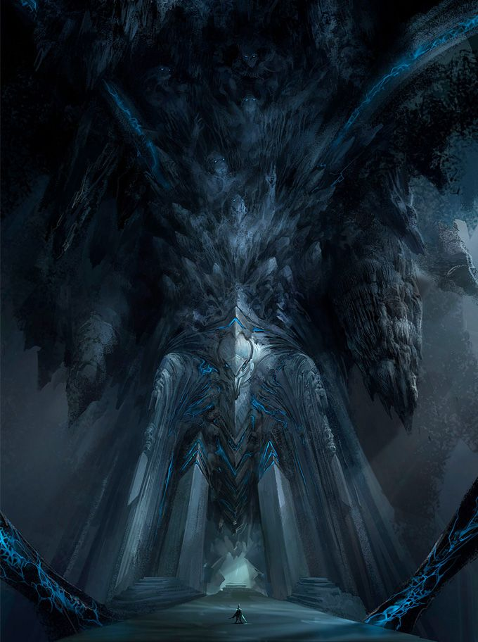 StarCraft II Concept Art Design Inspirations Pinterest