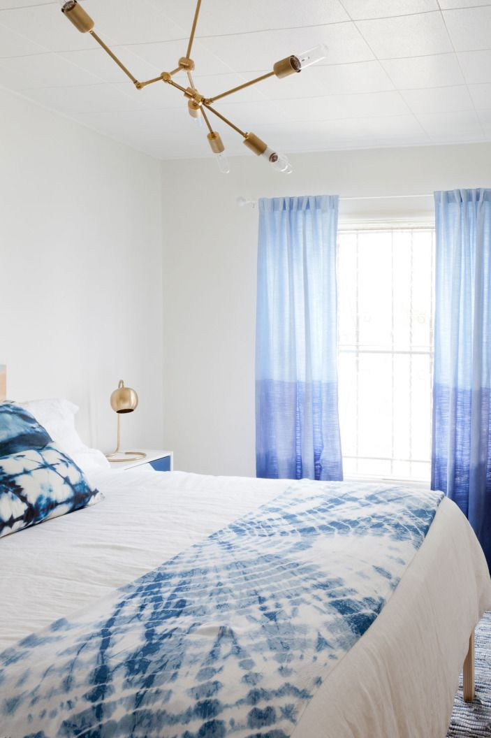 Tired of the same standard curtains hanging on your windows? Homepolish designer Leah Ring has a knack for extensive DIYs, and here she shows how to add some pizzaz to your drapery.