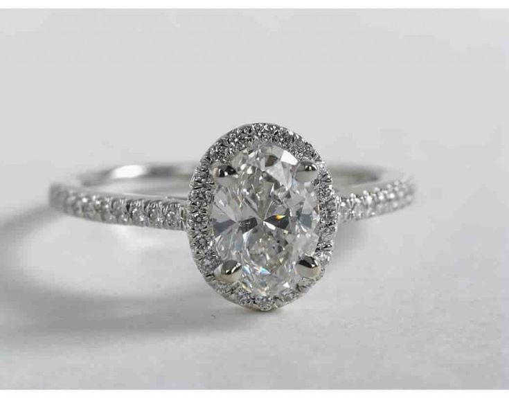 55 best Oval Engagement Rings images on Pinterest
