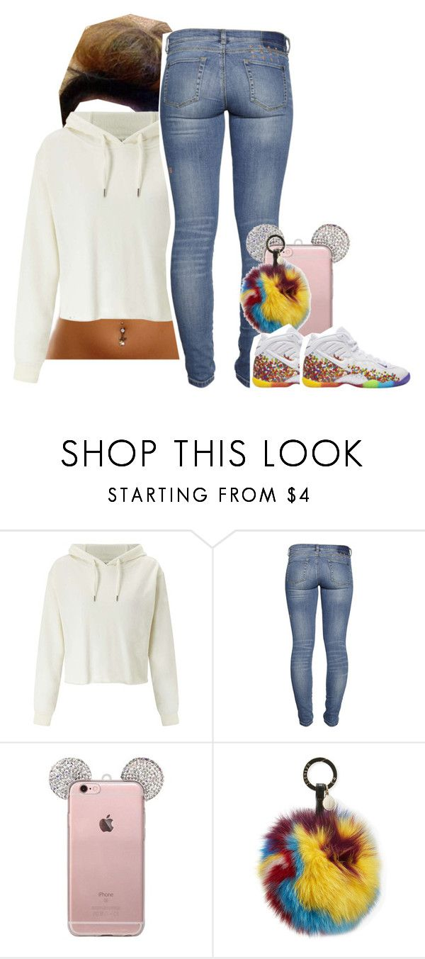 """""""Me and my bf back on track again and today means a month"""" by princess-sinia ❤ liked on Polyvore featuring Miss Selfridge, Jocelyn and NIKE"""