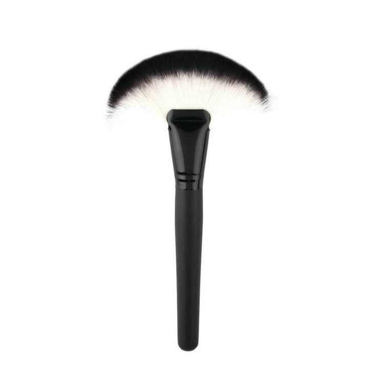 High Quality 1pc Soft Makeup Large Fan Brush Blush Powder Foundation Make Up Tool big fan Cosmetics brushes