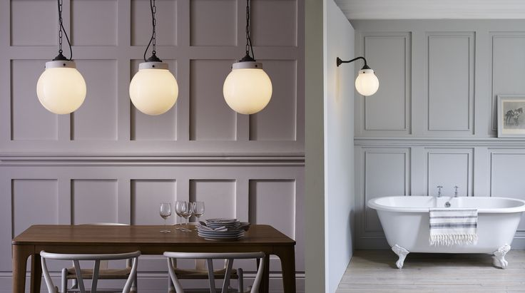 The Hampton collection is crafted using an original blend of quality materials and finishes. Classic opal glass is hand-blown and combined with ceramic and weathered brass fittings for a look that's nautical in nature – a nod to Britain's marine naval ships. Available in a range of sizes and lighting types, Hampton is IP rated, making it an ideal choice for indoor and outdoor applications, including bathrooms, exterior porches, and hallways. See more marine-like lights at LightForm.ca