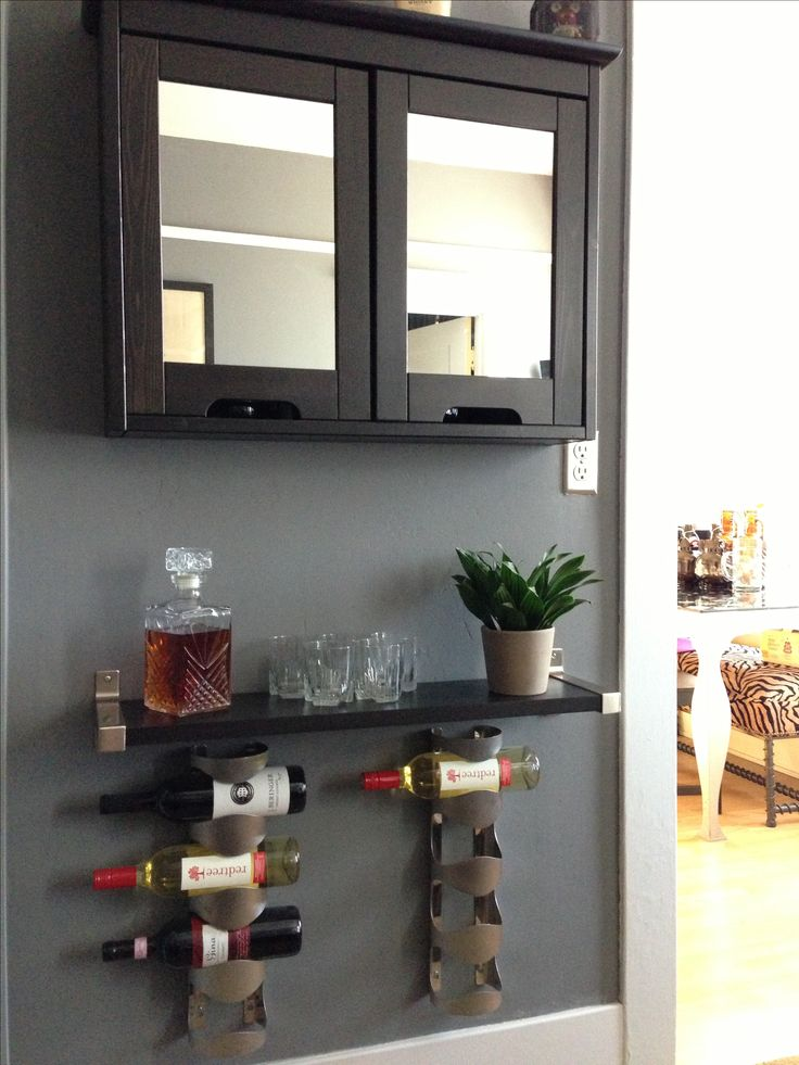 My diy liquor cabinet ikea bathroom cabinet dream for Corner bar cabinet ikea