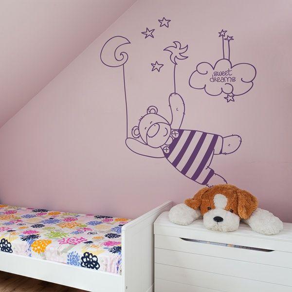 29 best vinilos infantiles para paredes images on pinterest for Disenos para paredes