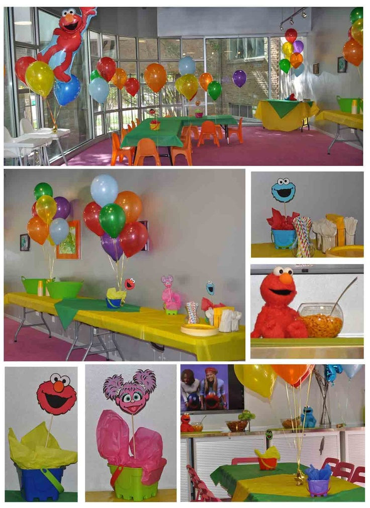 Party Centerpiece Ideas And Decorations Sesame Street