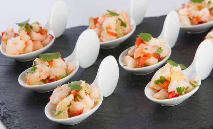 Gambas lime and chilli chinese spoon canap s gluten free for Gluten free canape ideas