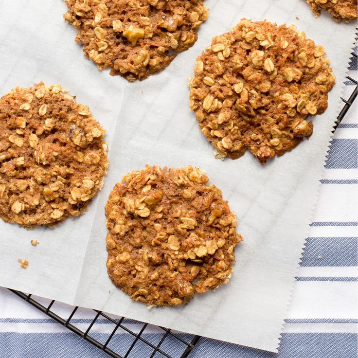 Carrot-Oat Breakfast Cookies FMD Phase 3 Haylie Pomroy recipe