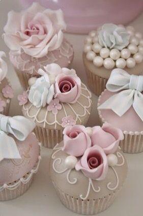 Cupcakes para boda o despedida de soltera