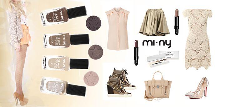 Hello Girls! Avete già provato ad abbinare gli smalti MI-NY sui toni del MARRONE al vostro outfit preferito?  SHOP ONLINE: http://www.minyshop.com/it/77-marrone    #miny #nailpolish #smalto #nails #glamour #fashion #madeinitaly #noanimaltesting #brown #minycosmetics #outfitoftheday #outfit #fashion #brown #cream #nailpolish #glamlacquer #lacquer