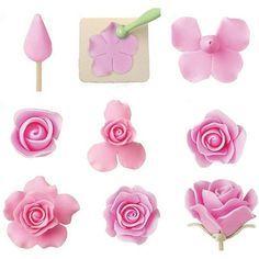 rosa pasta americana com molde cortador - Pesquisa Google