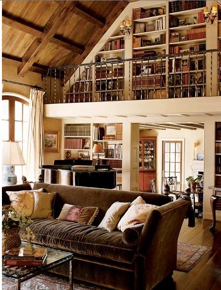 Home Library... So beautiful.