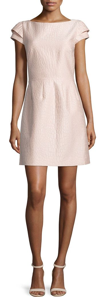 On SALE at 36% OFF! Cap-sleeve scooped-back dress by Halston Heritage. Halston…