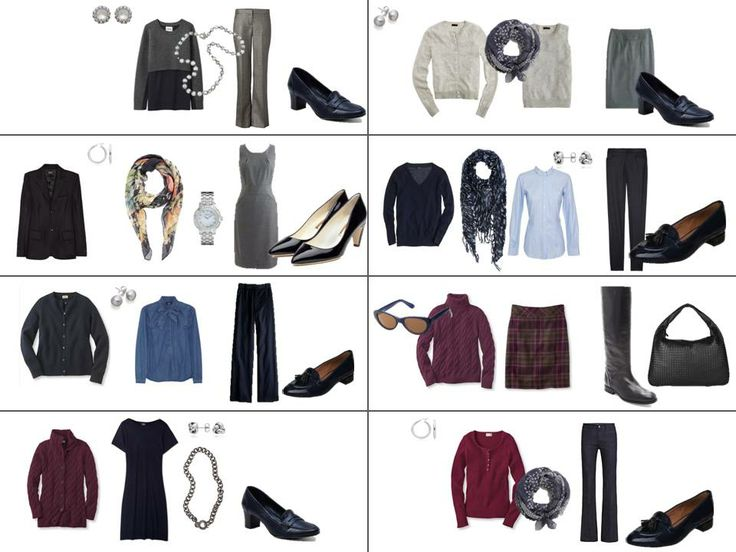 Project 333: navy & grey, accessories, 2 weeks of outfits | The Vivienne Files