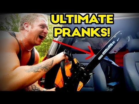 Time for Ultimate Pranks!  Enjoy this montage of the best slips, falls, crashes, impacts, hits, punches, fights, fails and bails! Mike Meyers Scare Pranks! Water Bottle Splash prank! Girlfriend Scare Prank! Trash can surprise! Candle Prank and more epic pranks and more caught on camera! The...