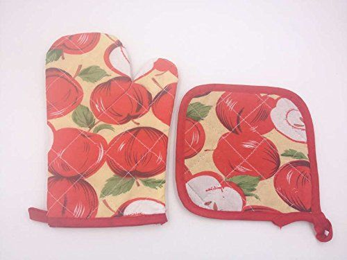 High-temperature Microwave Oven Gloves Kitchen Oven Mitts Oven Gloves Glove Insulation Pad Piece