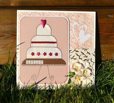 Ulrikas blogg - wedding card