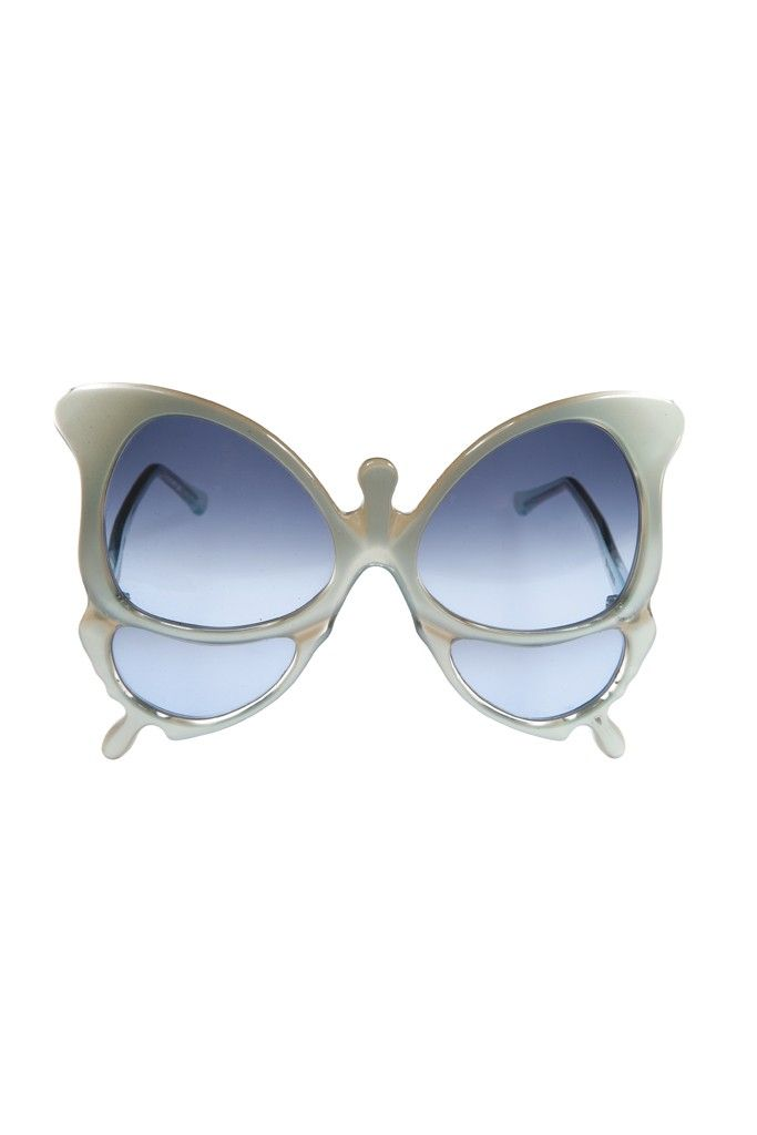 Oliver Goldsmith's acetate sunglasses. [Photo by John Aquino]