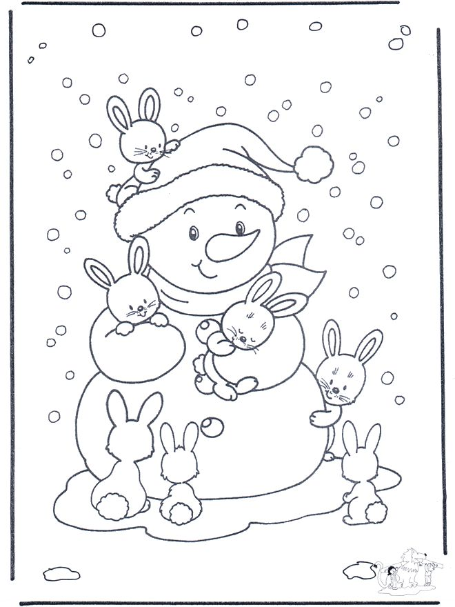 adult hello kitty winter coloring pages for kids printable