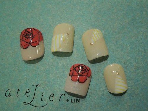 Roses (Bridal nail)   atelier+LIM