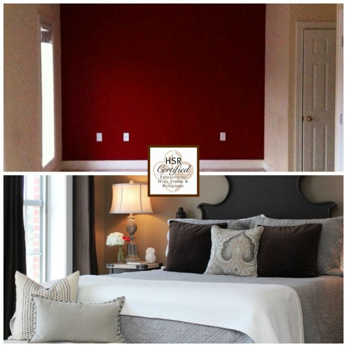 Staged Bedroom Before And After Bedroom Decorating Ideas Light Blue Built In Cupboards Bedroom Ideas Bedroom Carpet Ikea: 7 Best Staging Before And After Images On Pinterest