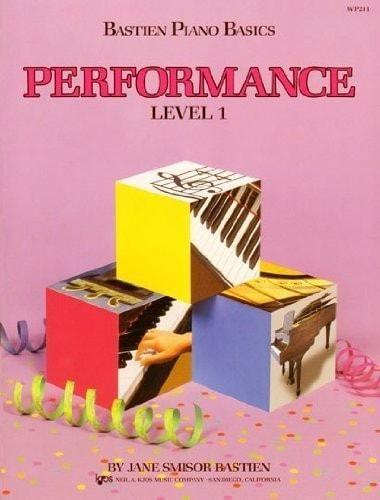 Bastien Piano Basics - Performance - Level 1