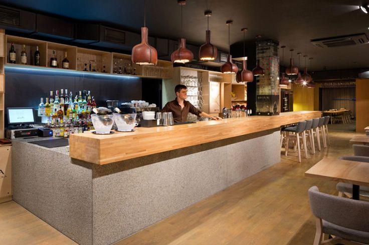 modern interior restaurant design