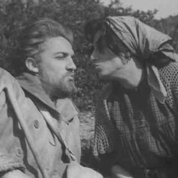 Anna Magnani and Federico Fellini, Roma movie www.alidifirenze.fr